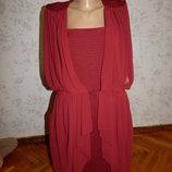 платье шикарное стильное р 14-16