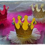 Короны для принцесс на на Новый Год и День Рождения