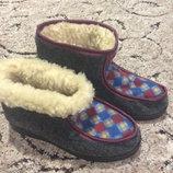 Зимняя теплая женская обувь, 37р., 38р.,