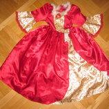 Детский карнавальный костюм принцессы Бэль на 5-6лет, 110-116см Disney George