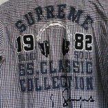 Распродажа. Рубашка Samurai Soul с вышитым принтом и нашивками. М. Бу
