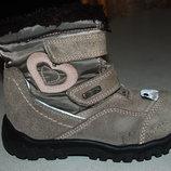 зимние ботинки elefanten 25 размер с нюансом