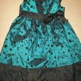 Нарядное платье Bluezoo 3-4г