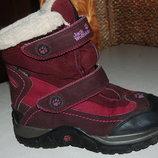 зимние ботинки jack wolfskin 33 размер