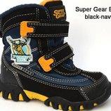Термо ботинки зимние Super Gear, р. 22-27