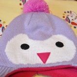 Продам теплую зимнюю шапку на 3-4 года