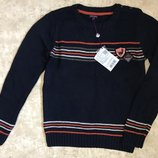 Вязаный свитер для мальчика подростка 157см 14 лет Sergent Major Франция