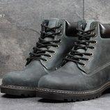 Ботинки зимние Timberland dark grey