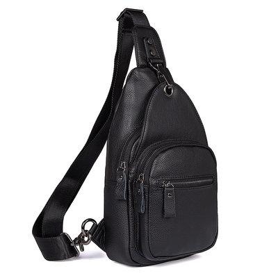 Рюкзак сумка через плече Стиляга натуральная кожа