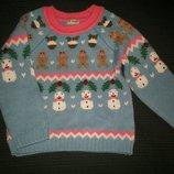 новогодний свитер Лав Некст 4-5л