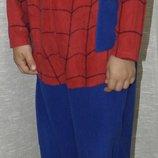 можно для близняшек Primark essentials spiderman Слип человек паук Кигуруми пижама человечек