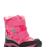 Термоботнки для девочки розовые, круговорот , C-T09-04-G, Тм TOM.M , Размеры 23, 24, 25, 26, 27,