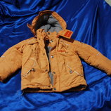 Куртка DIWA CLUB Рост 110 детская зима мальчик девочка капюшон дешево распродажа.