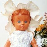 Кукла Куколка Чехословакия GUMOTEX 29см