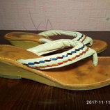 Шлепанцы,вьетнамки,сланцы, сандали размер 36-37, б/у