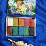 Игрушка развивающая Пластелин 12 цветов 120x85