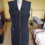 Плаття на підкладі коротке або довга жилетка на розмір М Only