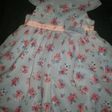 Нарядное платье George 12-18ме
