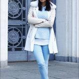 голубые женские джинсы S/M