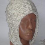 Демисезонная шапка Matalan 11-13 лет на флисе состояние новое