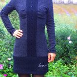 Теплое платье размер S
