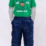 Зимние штаны для мальчика 4-12 лет