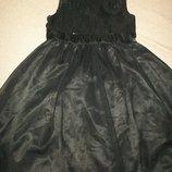 Нарядное платье F&F 7-8л