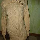очень красивое и теплое вязаное платье.распродажа.