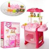 Кухня детская игровая W017. Световые и звуковые эффекты