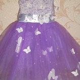 новое нарядное платье на девочку 3-4г