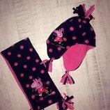 Фирменный комплект шапка и шарф Peppa pig