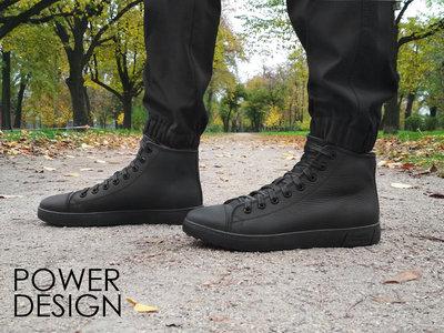 Мужские кеды кроссовки Power Design натуральная кожа