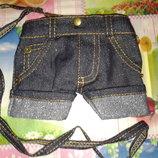 Прикольный кошелёк-сумочка Джинсы