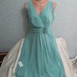 Шикарное стильное платье с биркой Пог 50 см