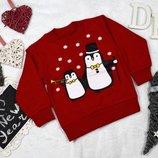 Новогодний свитшот Пингвинчики