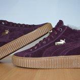 Женские зимние ботинки Puma.Натуральная кожа.