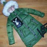 Куртка зима парка для девочек
