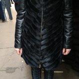 Шуба курточка жилетка трансформер норка натуральная кожа все размеры