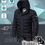 Куртка практичная качественная мужская Braggart на меховой подкладке Размер 50 Л