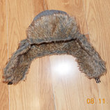 Зимняя фирменная шапка для подростка мужчины