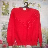 итальянский свитер для яркой леди новое состояние