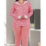 Пижама женская для пышных красоток 2XL-3XL-4XL