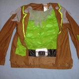 наряд костюм пирата на хеловин карнавальный рост 92-98-104 см 2-3 года зомби хелоуин хелловин