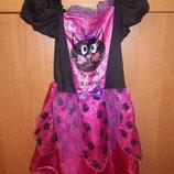 Платье карнавальные кошка