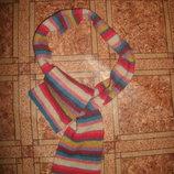 шарф двойной шерсть