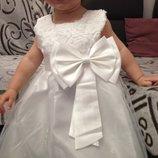 Платье нарядное от 80 до 130 см до нового года все размеры по 450 грн