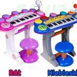 Детский синтезатор-орган на ножках со стульчиком BB45D