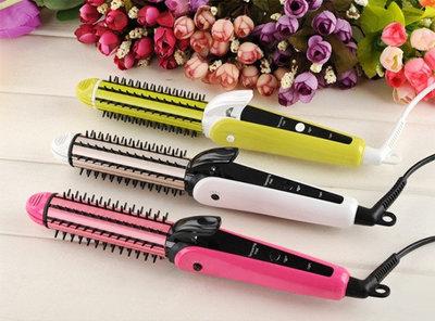 Плойка для завивки утюжок для выравнивания волос Nova NHC-9902