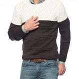 Мужской свитер молочно-кофейного цвета LC Waikiki
