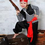 Карнавальный костюм Пират Зайчик Белочка Лисичка Мишка Пингвин Гном Снеговик